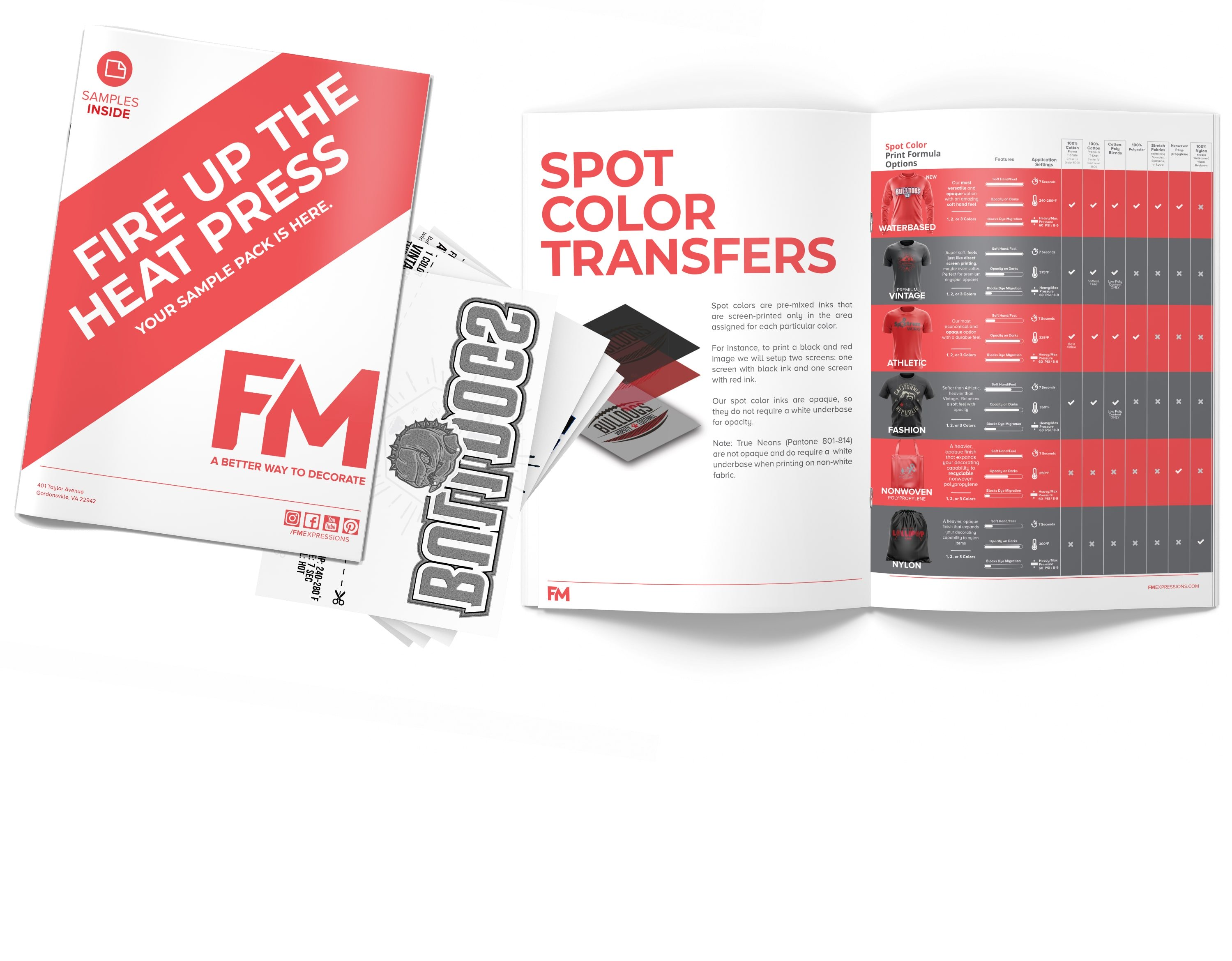 Request a Free Sample Pack   FM Expressions   888-788-7133